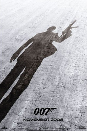 James Bond 007 Quantum of Solace movie poster