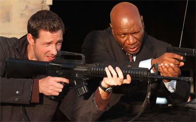 Edward Burns and Ving Rhames