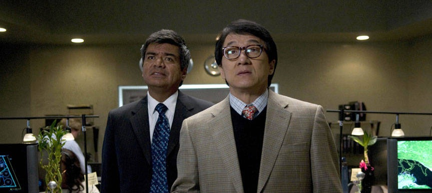 The Spy Next Door, George Lopez and Jackie Chan